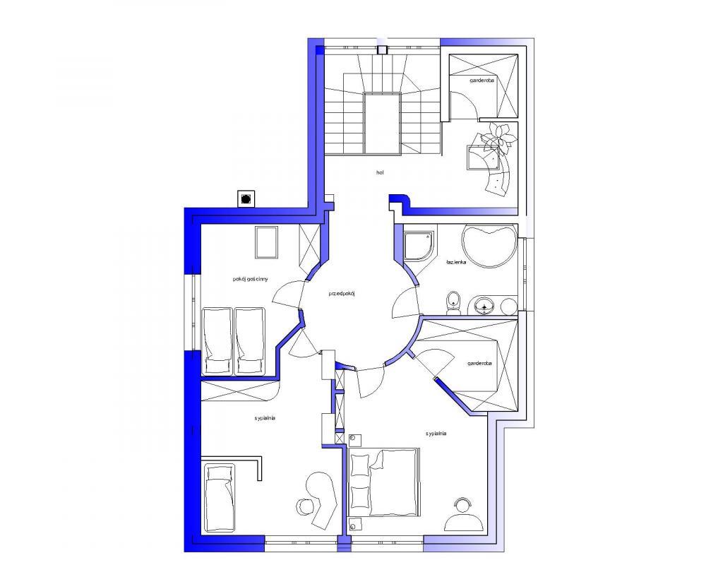 View of the II floor